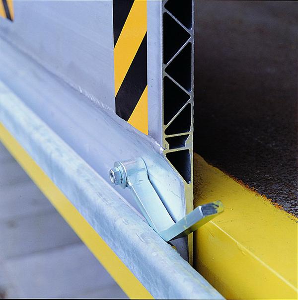 detail pont de chargement coulissant kbs