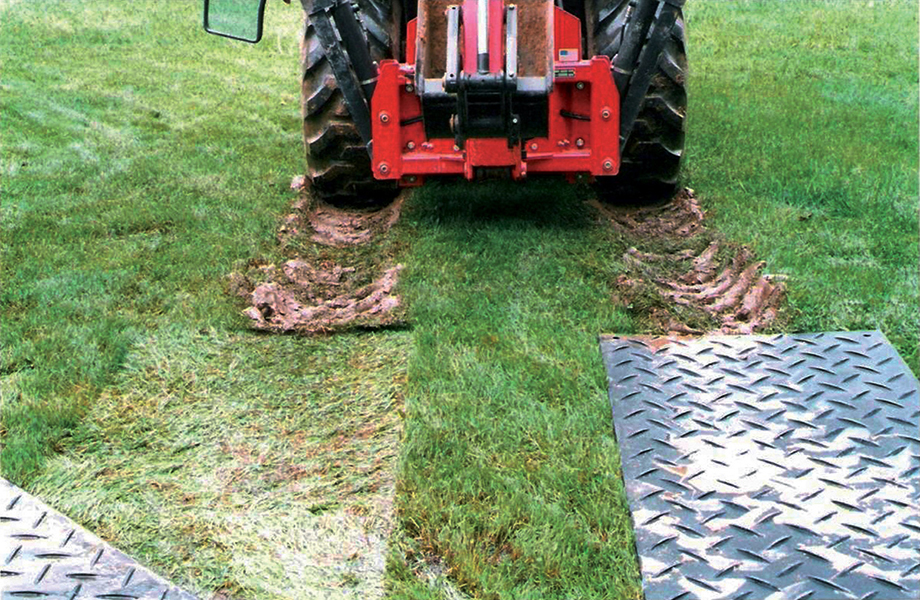 plaque de roulage 120t tracteur