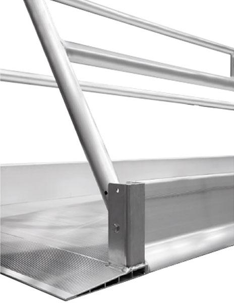 pliage rampe acces pietons