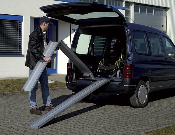 rampe de chargement pliable voiture