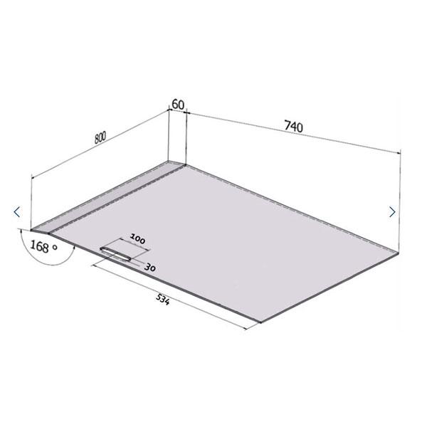 rampe oceane dimensions
