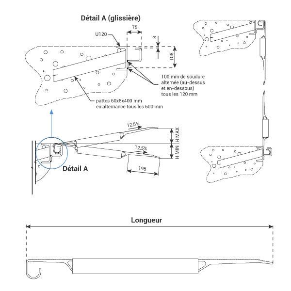 schema rampe MS040G