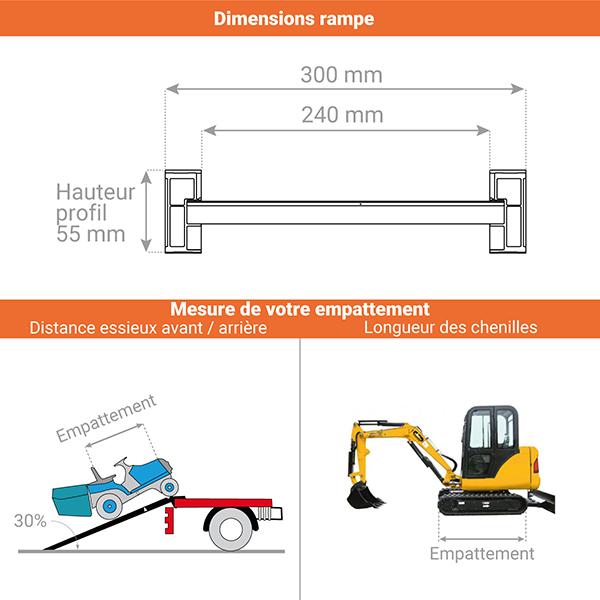 schema rampe chargement m055