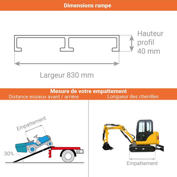 schema rampe chargement m803