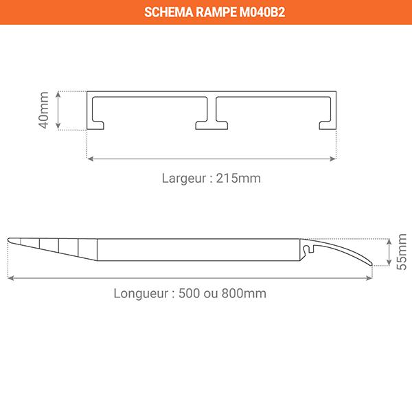 schema rampe container M040B2