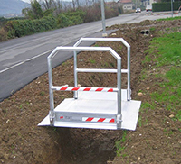 mini rampe acces chantier