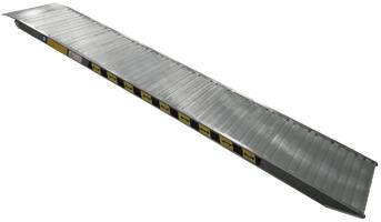 rampe de chargement grande largeur