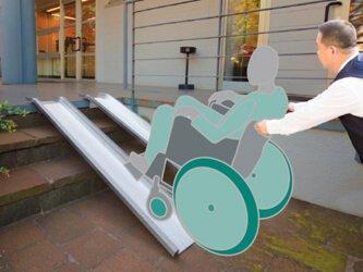 rampe pour handicapé