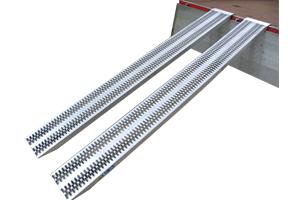 Rampe de chargement en aluminium