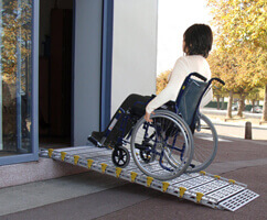 rampe handicapé