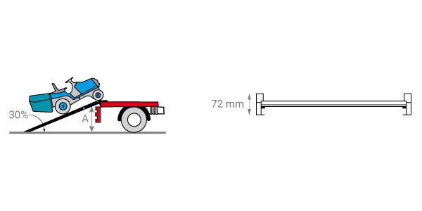 schema de la rampe de chargement grande largeur
