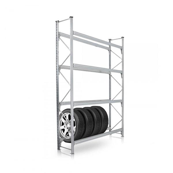 Etagere pour pneu à 4 niveau