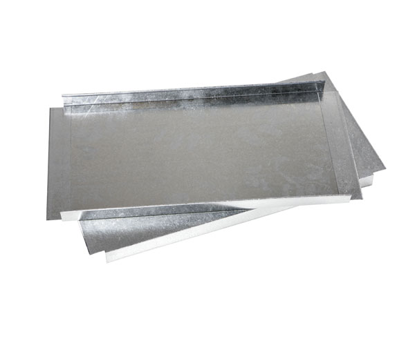 Plaque metal etagere