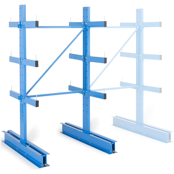 rack cantilever leger double