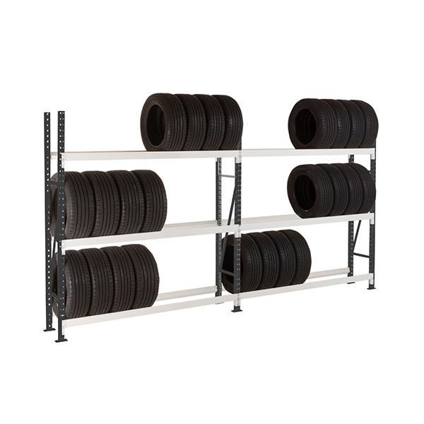 rack pneus 3 niveaux 1800mm