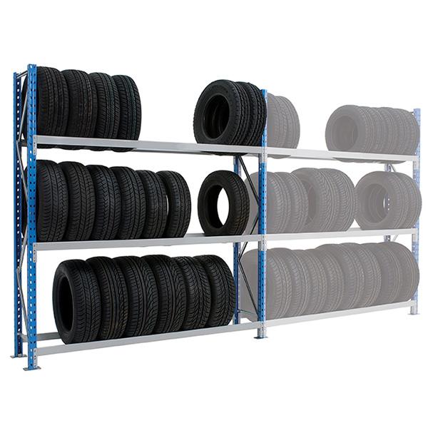 rack pneus 4 niveaux 2000mm