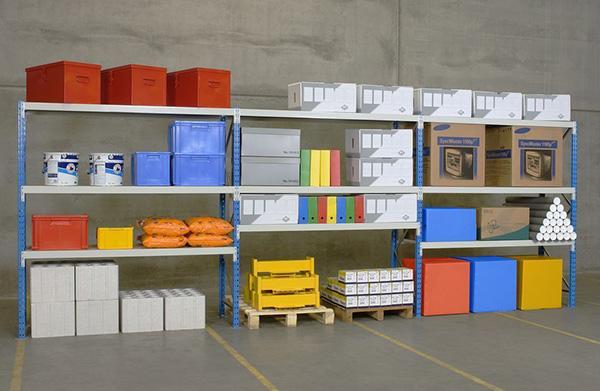 rack stockage manuel 3 niveaux