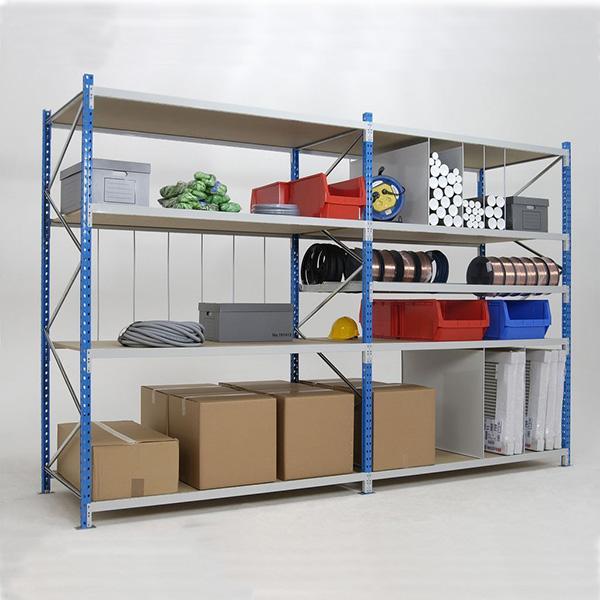 rack stockage manuel 4 niveaux