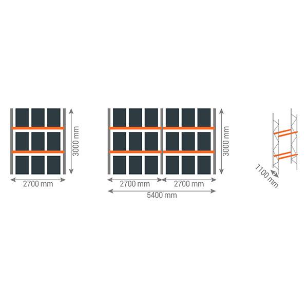 schema rack palettes 2n2700