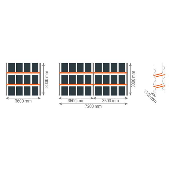 schema rack palettes 2n3600