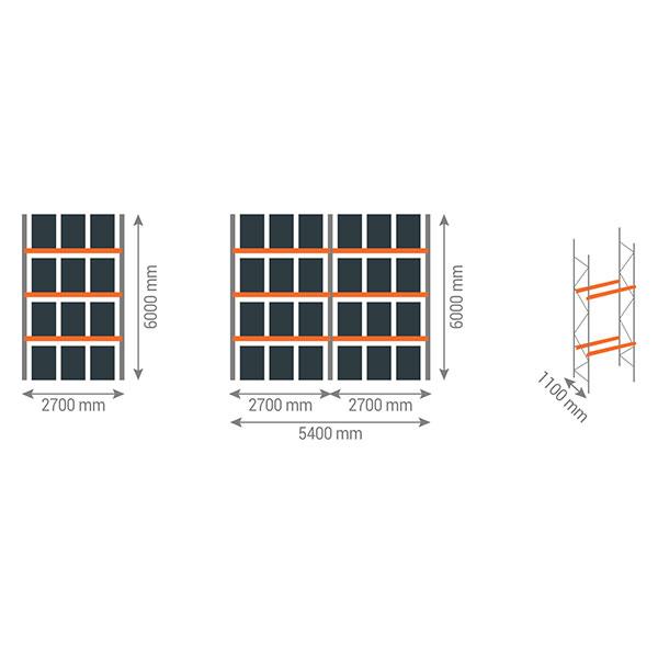 schema rack palettes 3gn6000