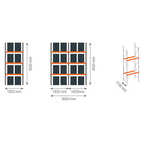 schema rack palettes 3n1825