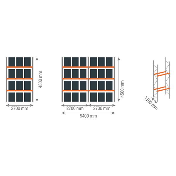 schema rack palettes 3n2700