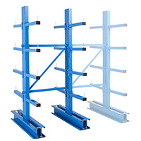rayonnage cantilever lourd double