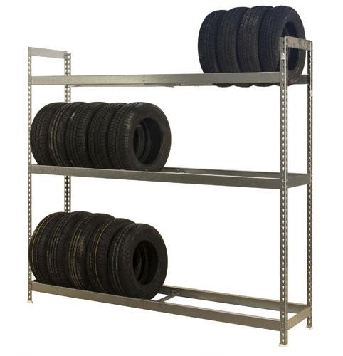 Stockage pneu pour garage