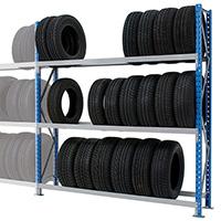 rack à pneu et étagère garage