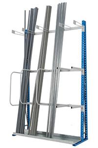 Rack de stockage verticale pour charge longue