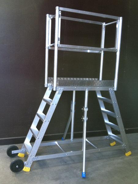 scala a castello con 2 accessi