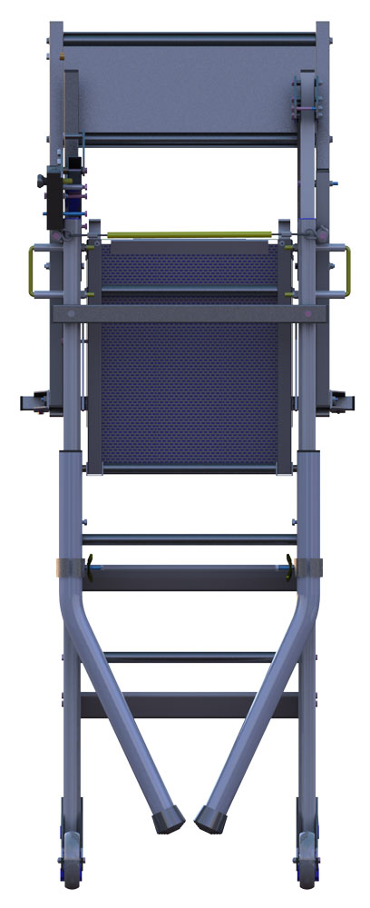 piattaforma individuale piegata