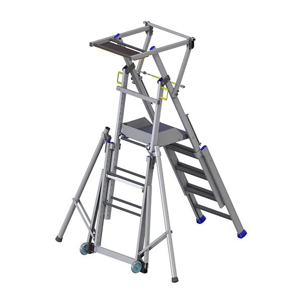 scala a castello telescopica