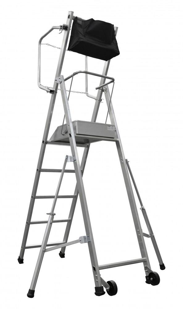 Scala a Castello T.REX - Modello 4 gradini