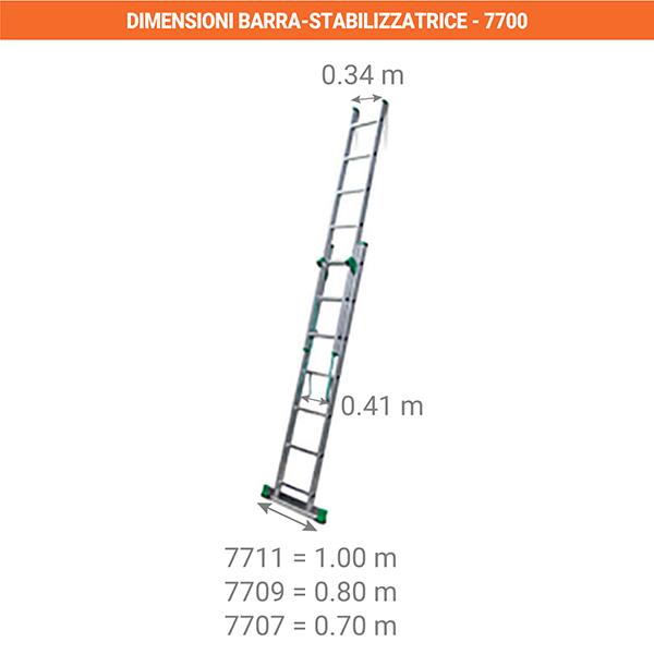 dimensioni barra stabilizzatrice 7700