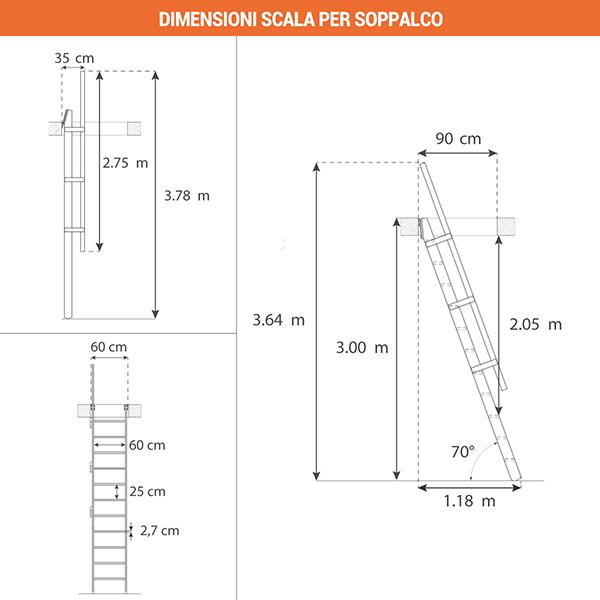dimensioni scala per soppalco msp