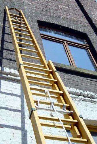 scala a sfilo legno