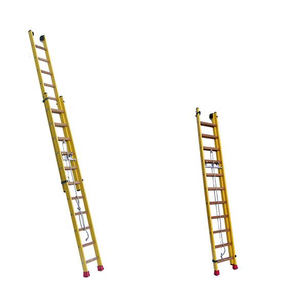 scala isolante a sfilo piegata