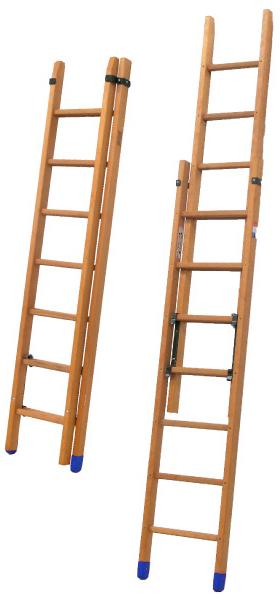 scala isolante legno sfilo manuale