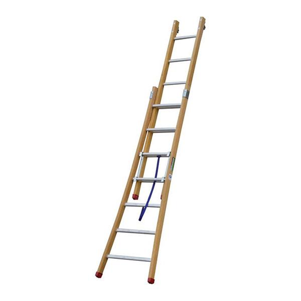 scala legno doppia MT aperto