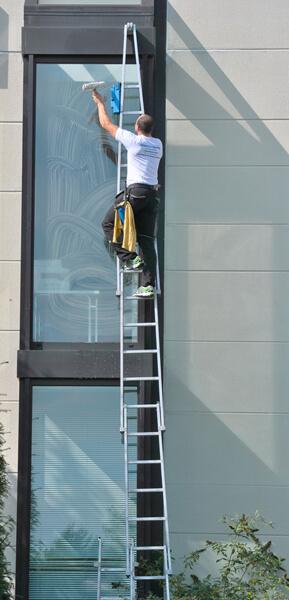 scala per lavare vetri