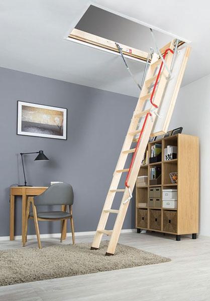 scala retrattile attico LWL