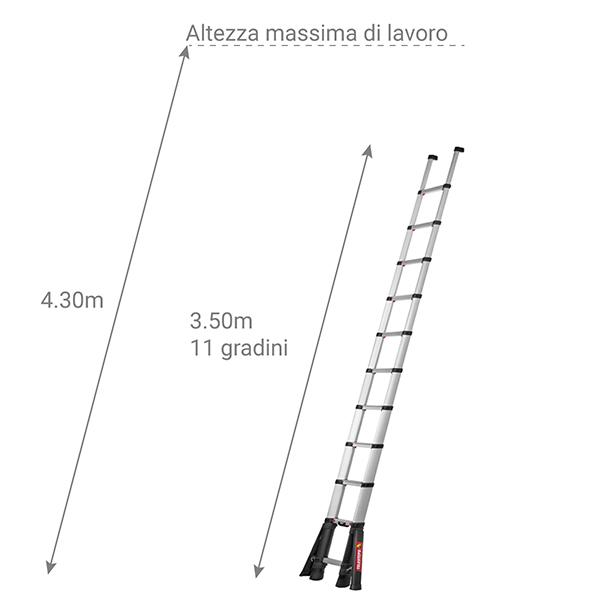 scala telescopica TEL 70235STAB dim