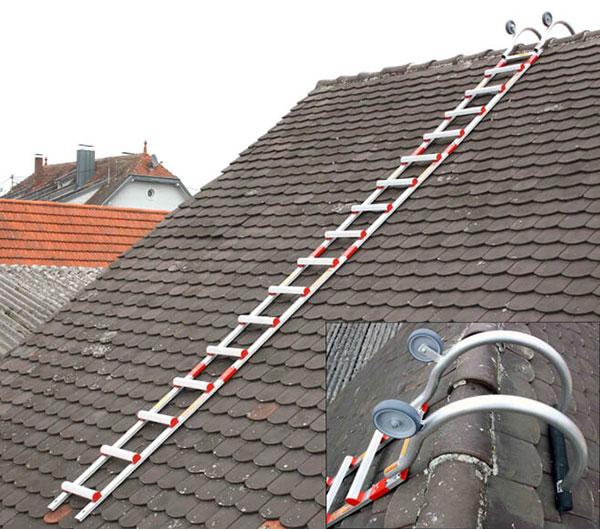 scala tetto alluminio