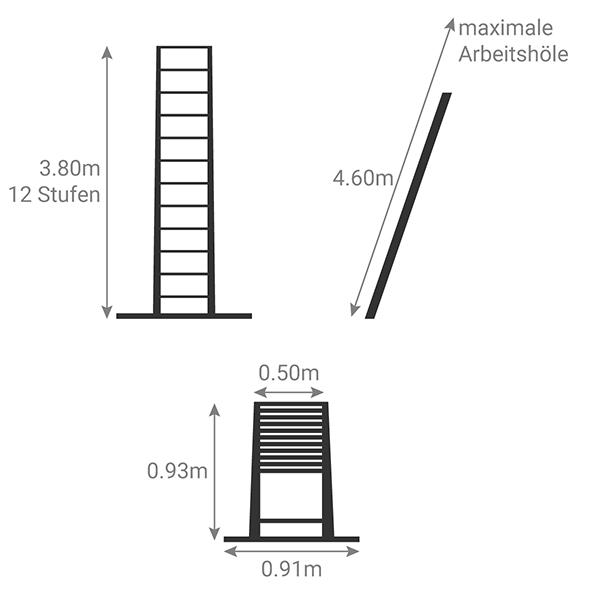 schema scala telescopica eco TEL 20138WS