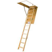 Scaletta In Legno Pieghevole : Scala retrattile per accesso ai soppalchi o i soffitta in alluminio