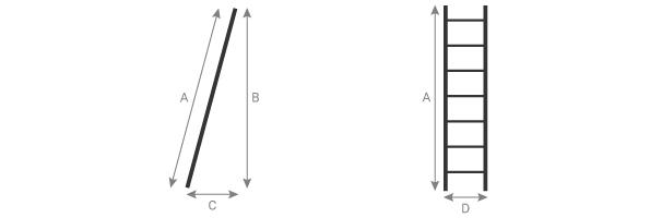 schema della scala semplice 7100