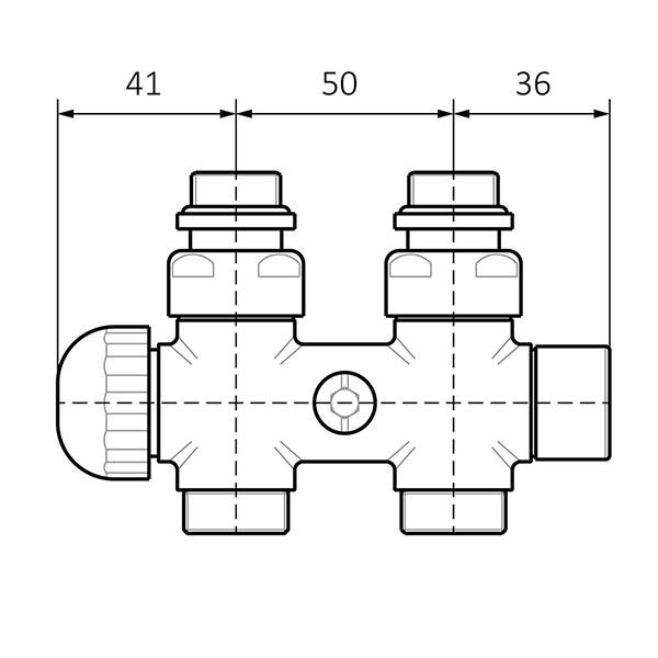 dimensioni valvola termostatica pavimento 1