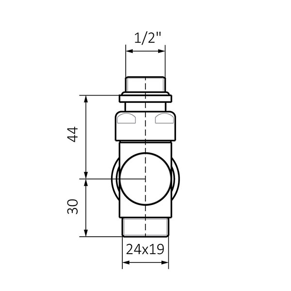 dimensioni valvola termostatica pavimento 2